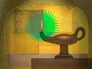 lampara vectores 04